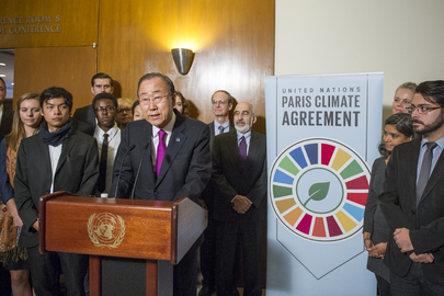 Paris Agreement SecGen